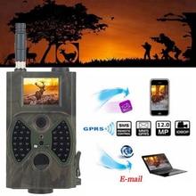 NEW-HC-300M Hunting Camera Hd IR Surveillance Camera,12mp 1080p IP65 Waterproof Scouting For Wildlife Monitoring,