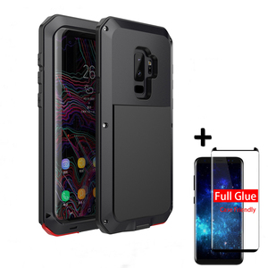 Image 2 - Luxury Shockproof doom Armor Case For Samsung S10 S8 S9 S20 Plus S10E Metal Waterproof Cover For galaxy Note 20 10Plus Note9 8