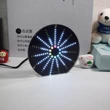Светодиодный круговой аудио визуализатор музыкальный спектр