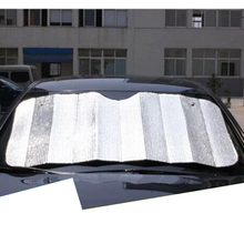 Lsrtw2017 Aluminum Foil Car Front Windshield Sun Shade Mat Protection Heat Insulation