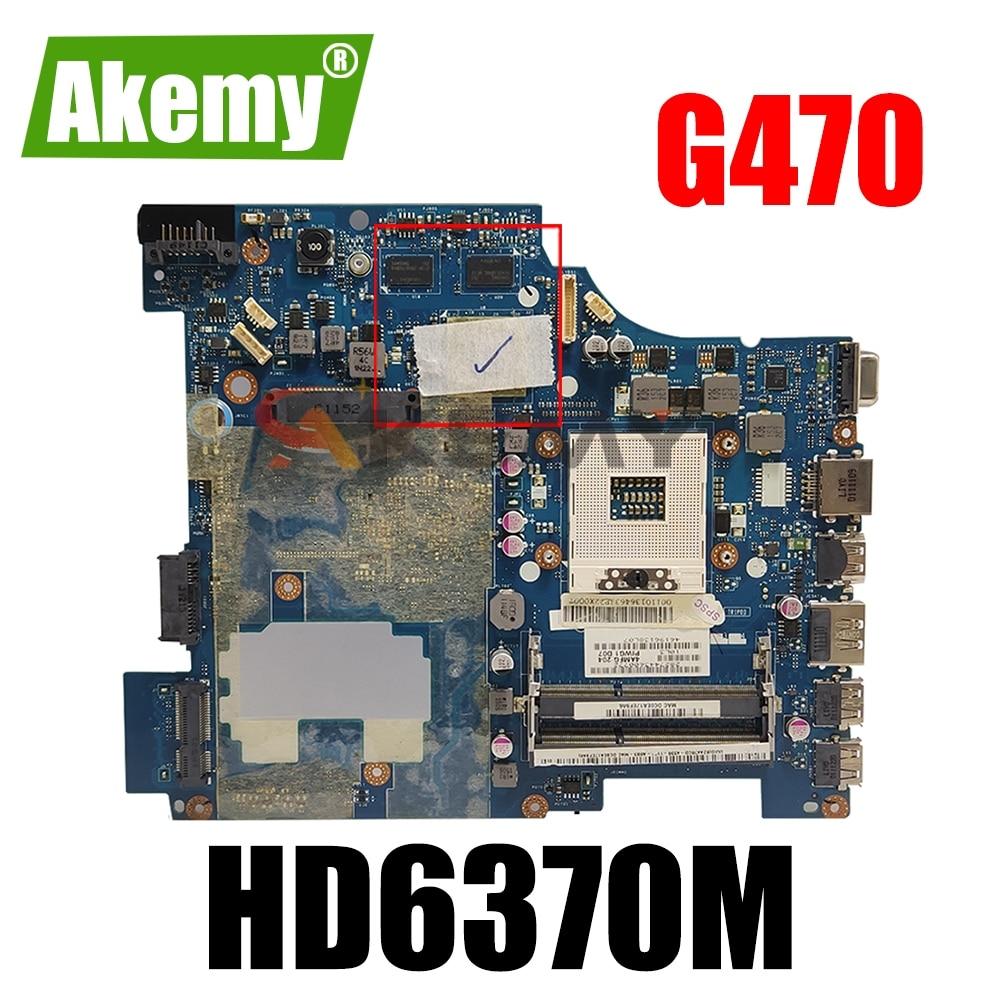 Материнская плата для ноутбука LENOVO G470, 14 дюймов, HD6370M, материнская плата 11013646 PIWG1, LA-6751P HM65 216-1774207
