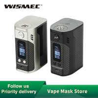 Originale 300W WISMEC Reuleaux RX300 TC Box Mod RX-300 VW/TC Vape MOD per RDA RTA RDTA FAI DA TE vape e-Sigaretta vs Rx2/3