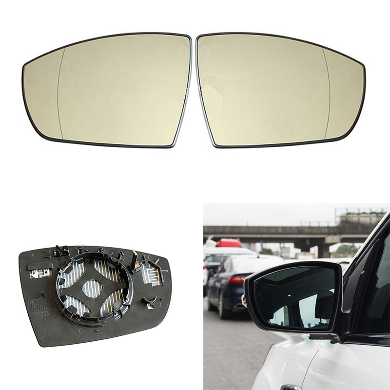 LEFT FORD S MAX Replacement Mirror Glass FORD KUGA FORD GALAXY