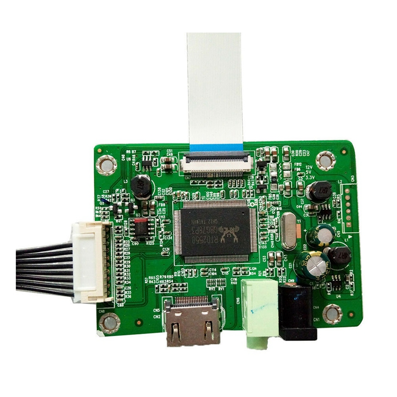 Universal 1080P Audio HDMI To EDP Controller Board Adapter LCD Screen 30Pin Replacement Electronic Board