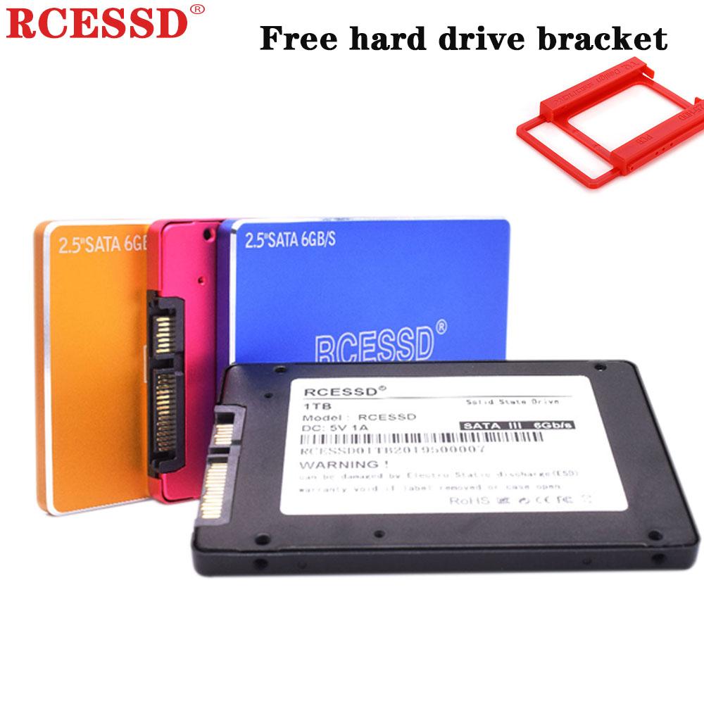 RCESSD Metal SSD  120GB 128GB 240GB 256GB 2.5-inch SATA3 360GB Internal Solid State Drive HDD 64GB 480GB SSD SATAIII 512GB 960GB