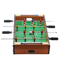Outdoor Camping Hiking tools Mini Wooden Kids Children's Table Football Machine Table Soccer Toys