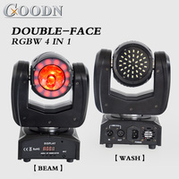 moving head double face led dj spot light /dmx beam and led wash Strobe effect light disco ball