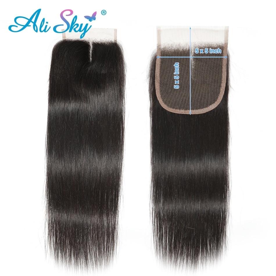 sky hair with closure