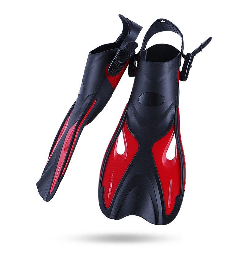 Swim Fins Adult Short Scuba Snorkeling Shoes Swimming Fins Diving Flippers