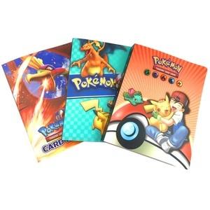 Image 3 - Álbum con soporte para tarjetas de pokemon, nuevos estilos, 80/240 uds, juguetes para regalo, tarjetas marcadores de libros, álbum
