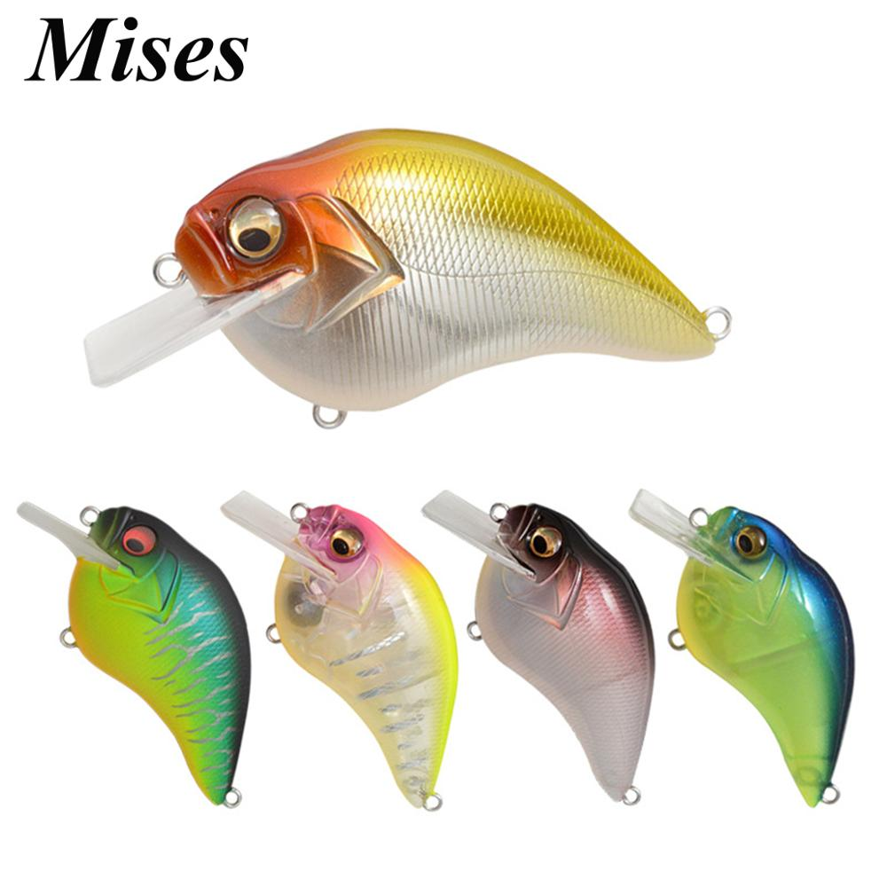 Mises 6.5cm 16g Eight Colors Floating Bionic Crank Little Fatty Lure Artificial Plastic Hard Bait Fishing Lure Fishing Tackles
