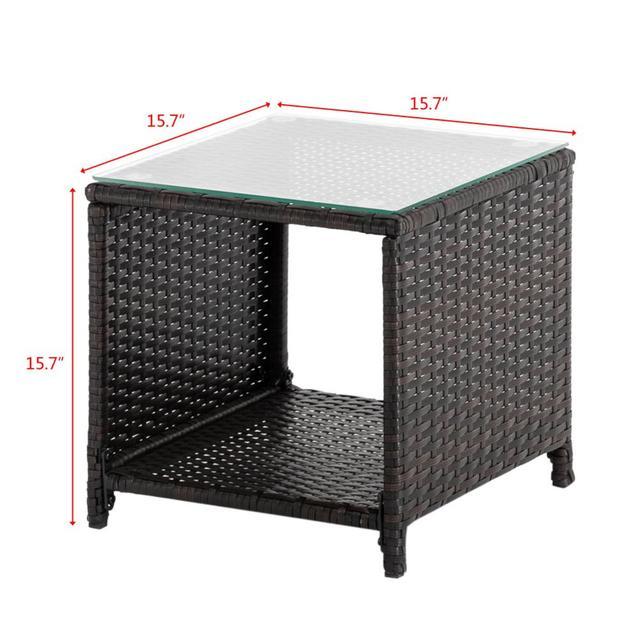 3 Piece Patio Furniture Set  2