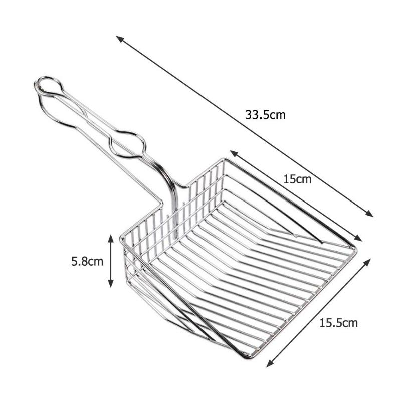 Durable Cat SS Cleaning Shovel