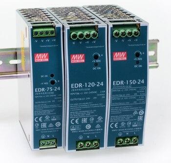 MEAN WELL EDR 75 120 150 12V 24V 48 V meanwell EDR 75 120 150 12 24 48 V Einzigen ausgang Schalt Netzteil Schaltnetzteil    -