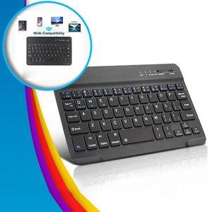 7 8-дюймовая клавиатура, мобильный телефон, ноутбук для Ipad, клавиатура, ультра-тонкая мини-синяя Беспроводная клавиатура для компьютера