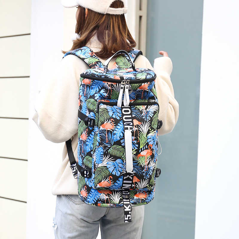 Famous Brand Waterproof Women Travel Bags for Female Large Capacity traveling Backpacks Ladies Multifunctional Crossbody Bag