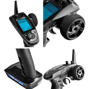 Image 5 - Flysky FS GT5 2.4g 6ch afhds rc transmissor de controle remoto com FS BS6 receptor embutido giroscópio fail safe para rc carro barco