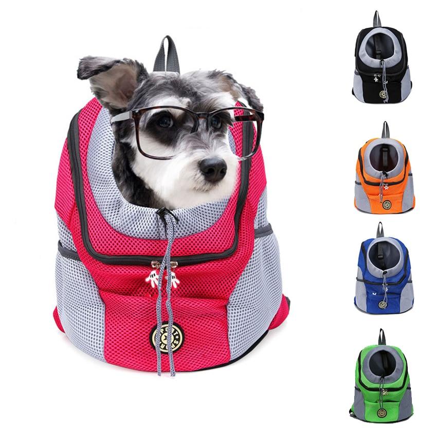 Pet Dog Carrier Backpack Double Shoulder