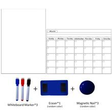 a3 weekly planner magnetic…