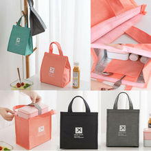 Women Men Office Insulated Lunch Bags Thermal Cooler Box Picnic Tote Waterproof Storage