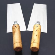 Midget цементный Поплавковый маржинальный ковш из нержавеющей стали отделочный шпатель для бетона шпатель строительные инструменты 80x160 мм