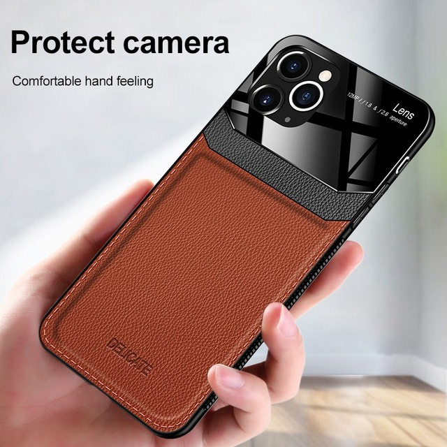 Wallet Cases For iPhone 11 Pro Max 6S 6 7 8 Plus XS Max Shell Retro Flip Leather Phone Case For iPhone 11/Pro/pro max 4