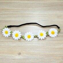 Artificial Flower Headdress Floral Garland Wedding Dress Accessories