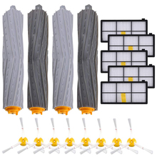 цена на Vacuum Accessories 800 900 Series Replacement Parts Kit for iRobot Roomba 880 960 980 Debris Extractor Hepa Filters Side Brushes