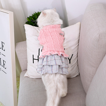 Cat Knitted Dress  1