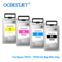 T9731 T9734 T9731 XL Compatible Ink Cartridge For Epson WorkForce Pro Epson WF C869Ra PX S7070S M7070FX T9731 Ink Bag