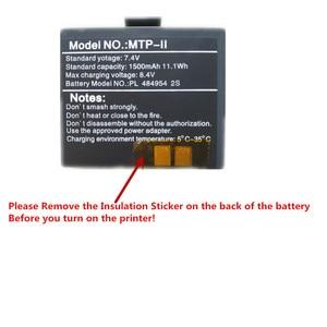 Image 5 - GOOJPRT Portable Mini 58mm Bluetooth Wireless Thermal Receipt Ticket Printer for Mobile PC Bill Machine Printer Impresora Recibo