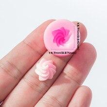 YF121 – moule à crème en Silicone, bonbons miniatures, chocolat, argile polymère, bijoux, Cabochon, boucles d'oreilles