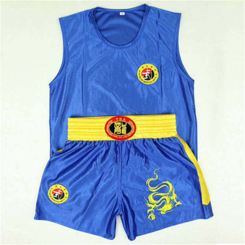 2020 Nieuwe Borduren Dragon Kids Volwassenen Jiu Jitsu Muay Thai Mma Boksen Shorts Set Sanda Grappling Sparring Uniformen Outfits Merk