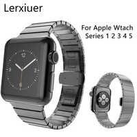 Cinturino in Acciaio Inox Per Apple watch band iwatch 5 4 3 2 1 fascia 44 millimetri 40 millimetri 42 millimetri 38 millimetri cinturino Degli Uomini della vigilanza del braccialetto Accessori