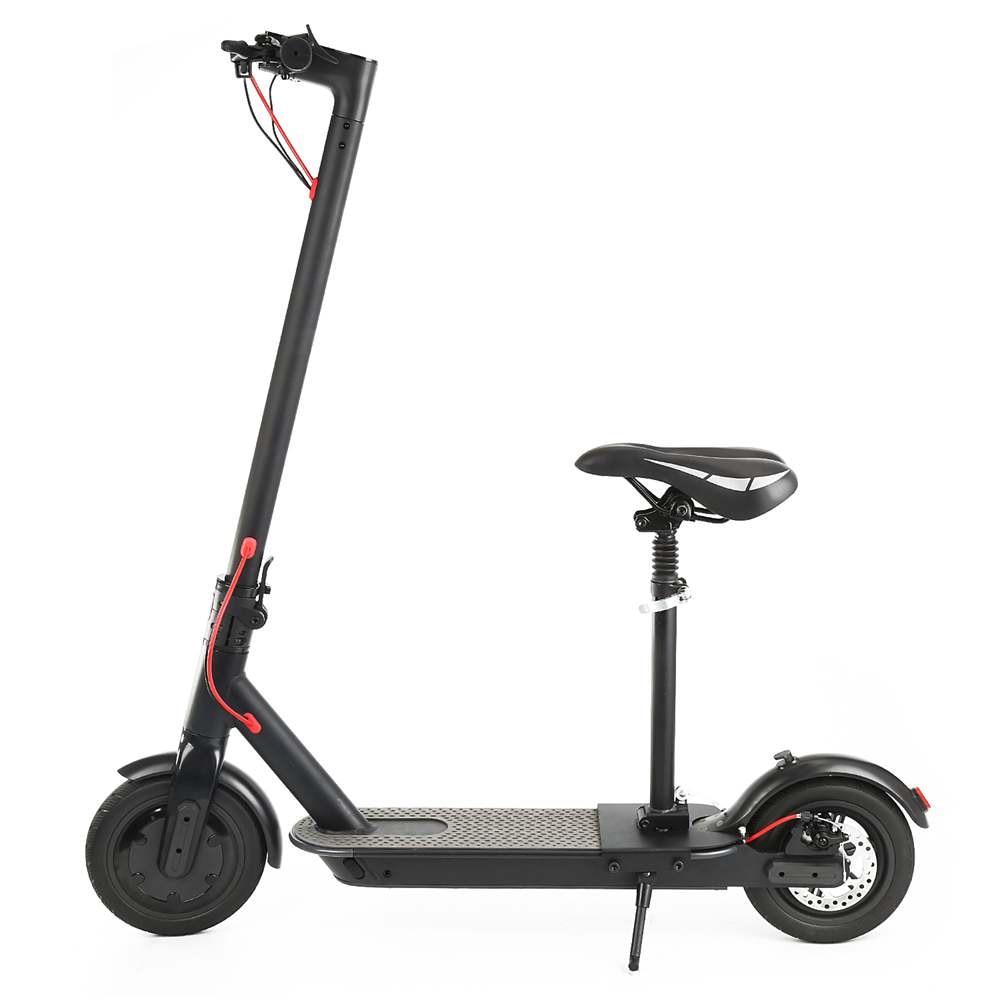 Planche à roulettes électrique électrique se pliante intelligente de Scooter électrique de longboard Hoverboard avec l'affichage d'écran d'affichage à cristaux liquides de 2 roues de lumière LED - 3