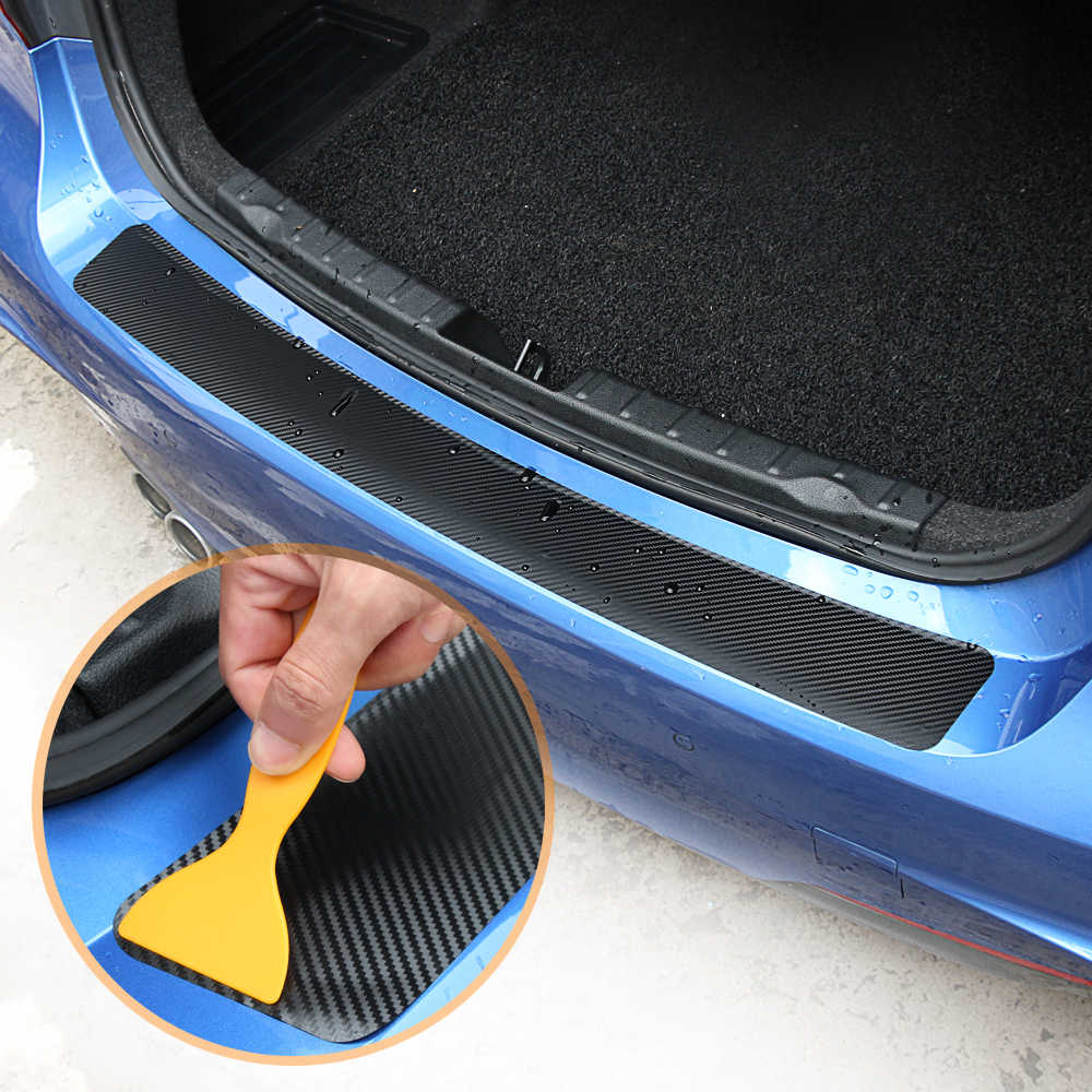 炭素繊維車のバンパーステッカーのための Kodiaq Karoq マツダ CX-5 CX5 CX 5 トヨタカムリ