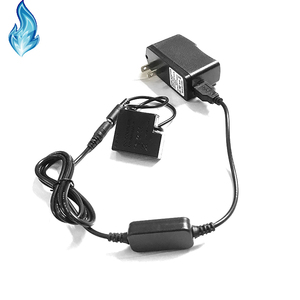 Image 2 - DMW BLH7E BLH7 dummy battery DMW DCC15+Power Bank charger USB cable+adapter for Lumix DMC GM1 GM5 GF7 GF8 GF9 LX10 LX15 camera
