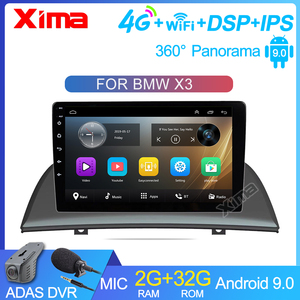 9 inch Car Android 9.0 2GB Ram Car Radio 2din DVD Player For 2004 2005 2007-2012 BMW X3 E83 2.0i 2.5i 2.5si 3.0i 3.0si 2.0d 3.0d
