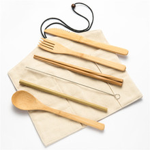 цена на Portable Flatware Cutlery Set Tableware Spoon Fork Spoon Set Tableware Kitchen Accessories Spoon and Fork Travel Cutlery Sets