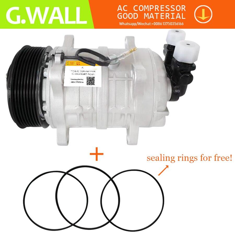 A/C Compressor & Clutch & 12V 8PK TM16 AC Compressor de peças de reposição Para O Carro de alta qualidade e estável