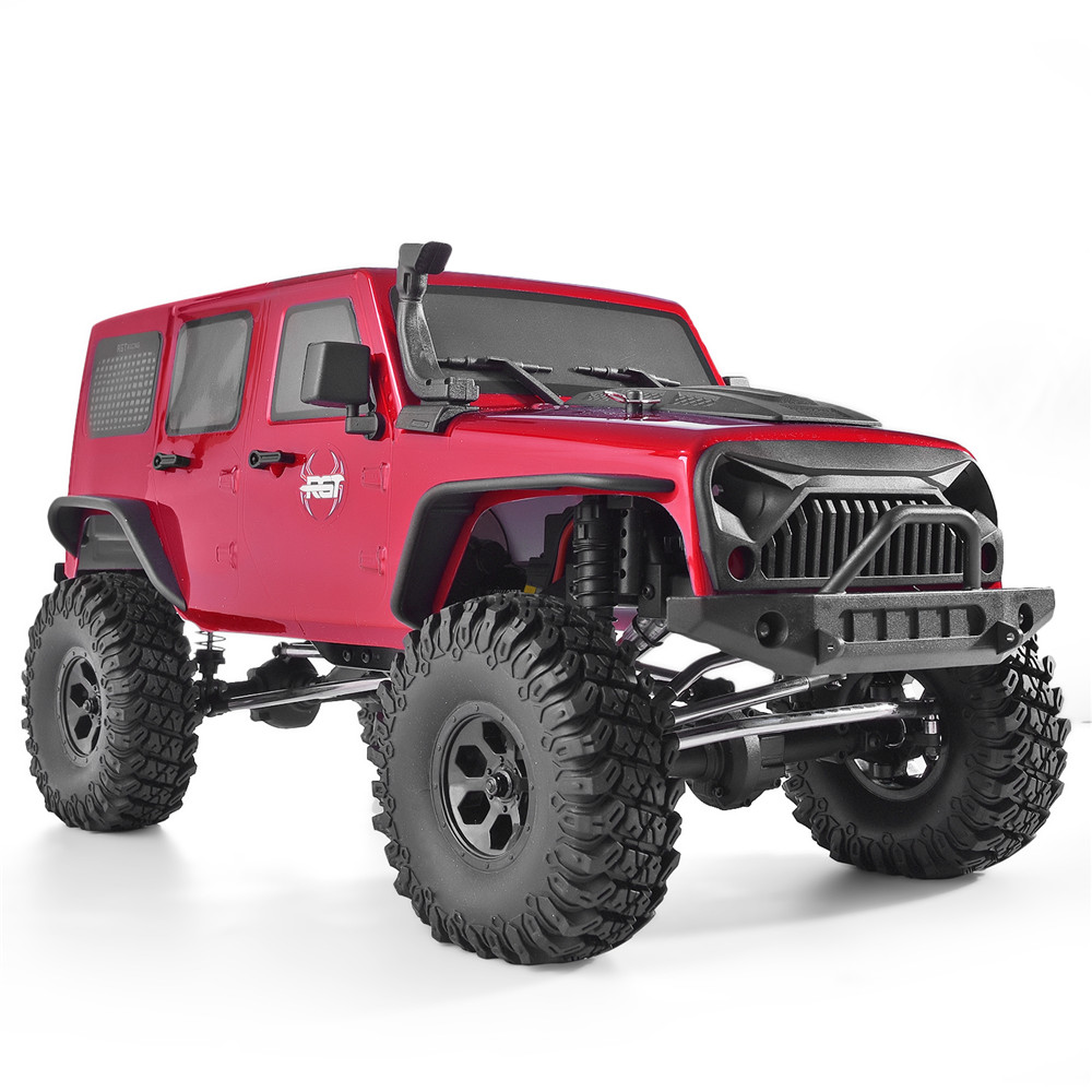 RGT Rc Crawler 1:10 Scale 4wd RC Rock Cruiser EX86100 313mm Wheelbase Crawler Off Road Monster Truck RTR 4x4 Waterproof RC Car image