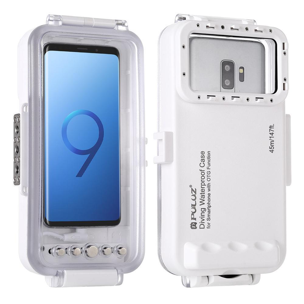 Universal 45m Unterwasser Abdeckung Wasserdicht Tauchen Gehäuse Foto Video Aufnahme Fall für Galaxy, Huawei, Xiaomi, google Android OTG - 2