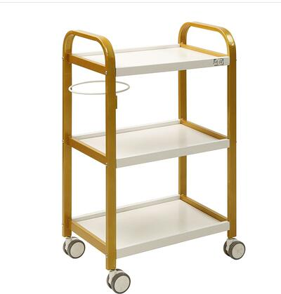 Japanese Beauty Salon Special Trolley Family Beauty Salon Trolley Three-level Beauty Trolley With Brake