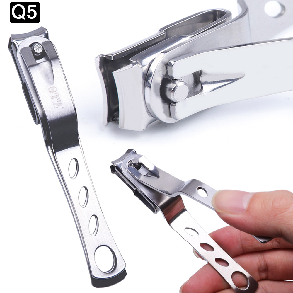 1pcs Professional Nail Nipper Clippers Cuticle Cutter For Manicure Dead Skin Dirt Remover Trimmer Pedicure Care Nail Tool JI1586