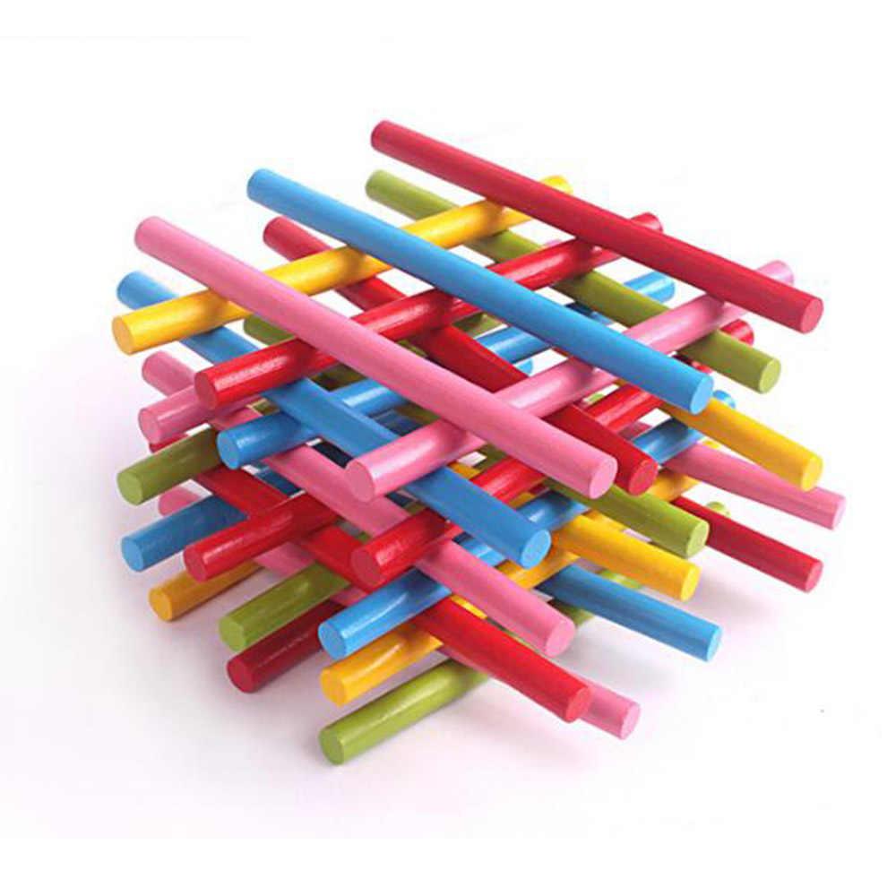 100pcs Colorato Di Bambù Conteggio Spiedi Matematica Sussidi Didattici di Conteggio Asta di Bambini In Età Prescolare Matematica Giocattoli di Apprendimento per I Bambini ZXH