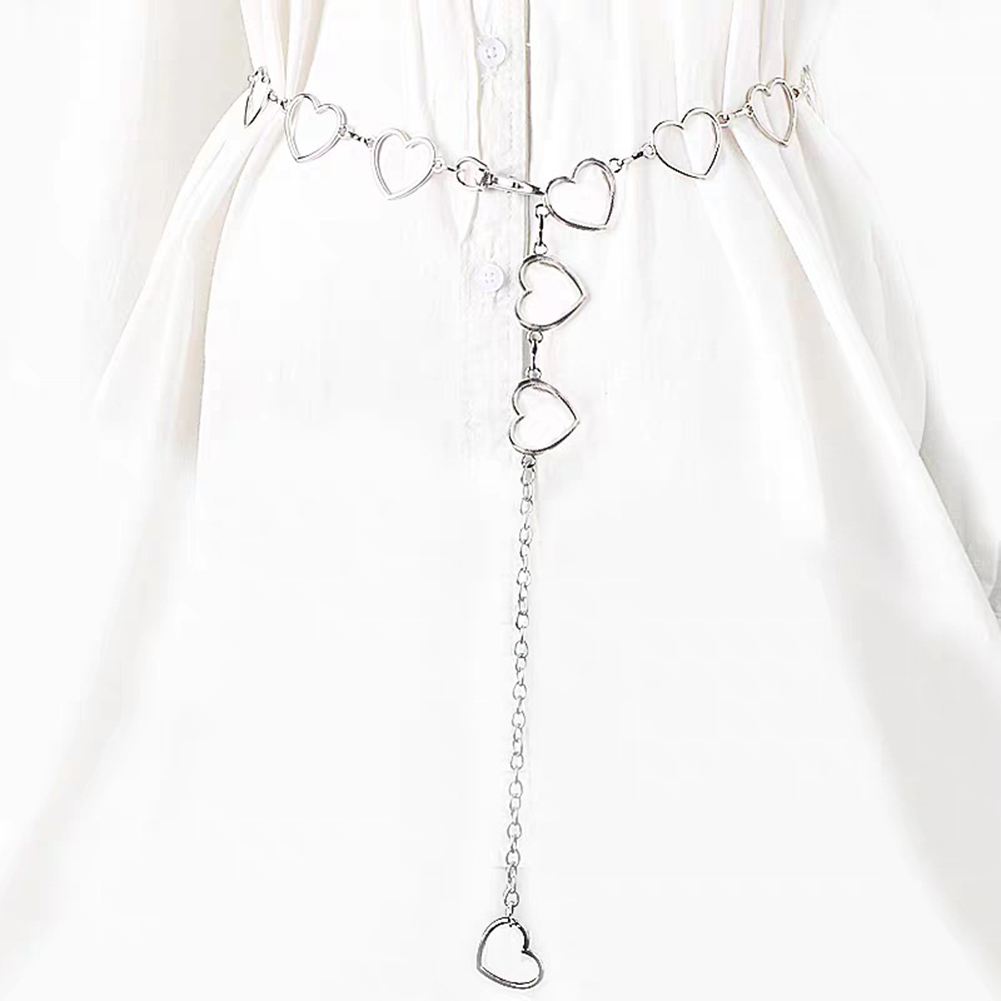 Street Fashion Love Heart Shaped Waist Chain