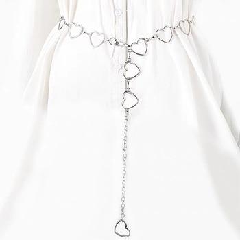 Street Fashion Love Heart Shaped Waist Chain