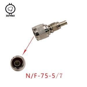Image 5 - ZQTMAX 10PCS Variety models N KK N JJ N J5/J7 N 75 5/7 N Type Male Female Connector Coaxial Connectors Convert Adapter