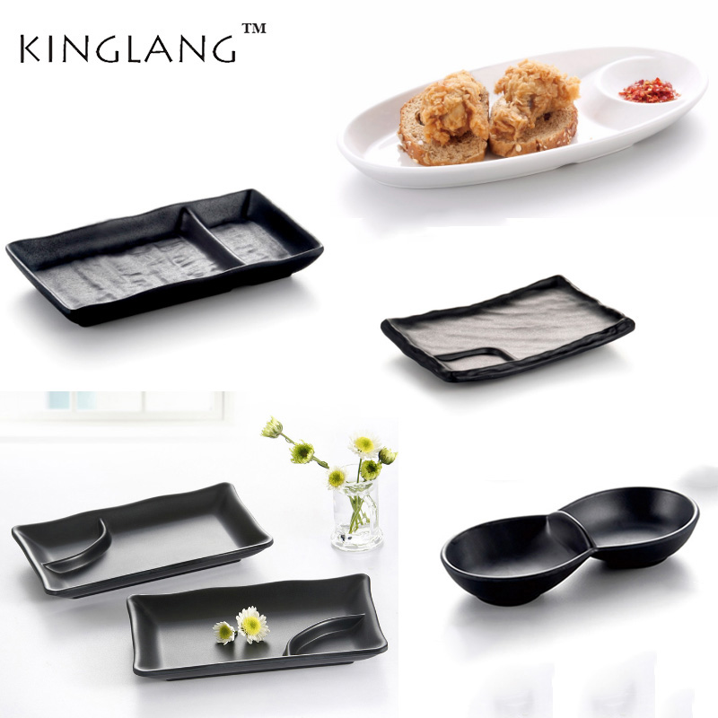 Japanese  Sushi Wasabi Soy Sauce Dipping Dishes Bowl  Dinnerware Set  Plates Dishes Dinner Service Kitchen Banquet
