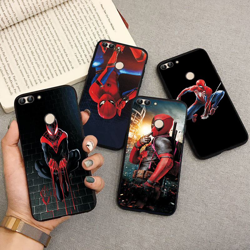 "Phone Bags ForHuawei Honor 7X 7S 7A 5.45"" 8X 8C 8S 8A Case Cover Black TPU Shell For Hua wei Honor 9X Pro 9Lite 7C RU 5.7"" Cases(China)"